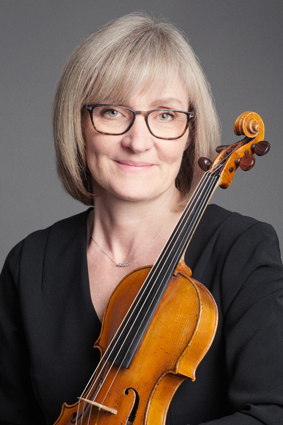 Violinist Karen Humle